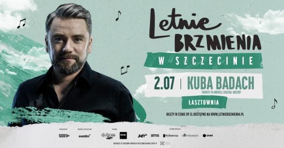 """Letnie brzmienia: Kuba Badach - koncert """"Tribute to Andrzej Zaucha. Obecny"""""""