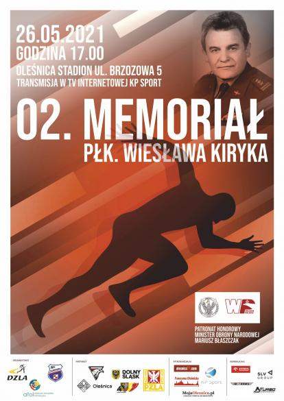 2.Memoriał płk. Wiesława Kiryka