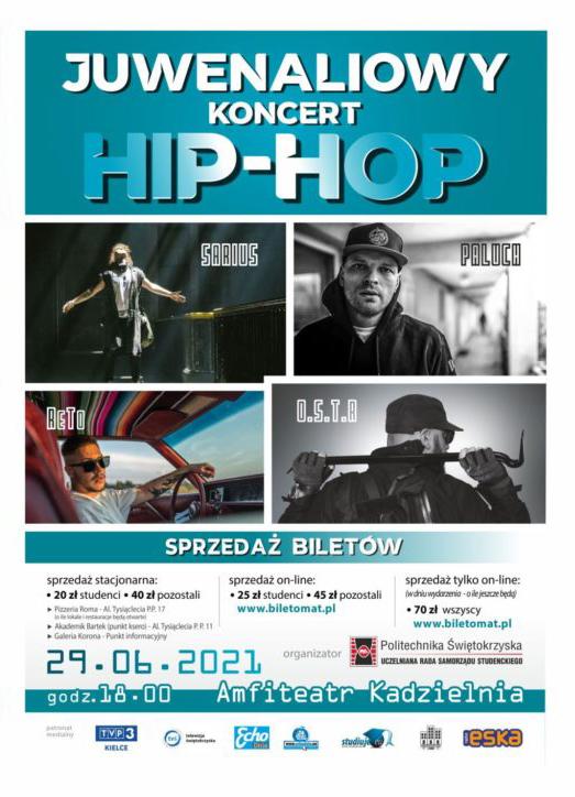 Juwenaliowy koncert Hip-Hopowy 2021
