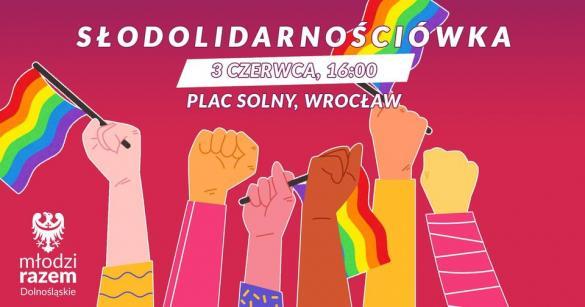 Stop przemocy wobec osób LGBTQIA - manifestacja we Wrocławiu