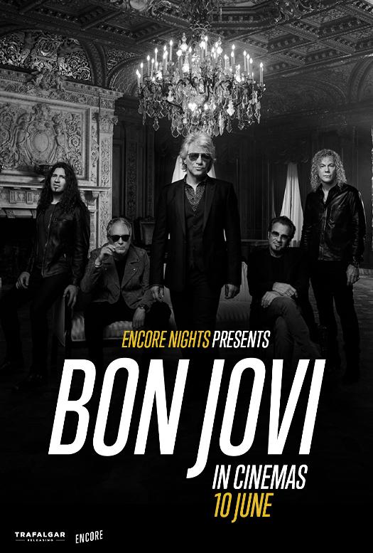 BON JOVI From Encore Nights w kinach Helios