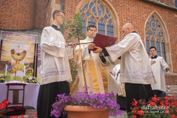 Procesja Bożego Ciała we Wrocławiu