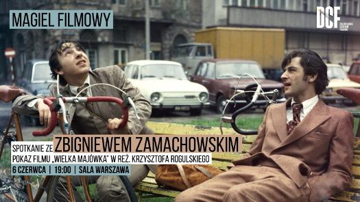 Magiel filmowy ze Zbigniewem Zamachowskim