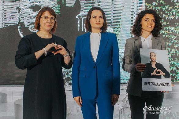 Cichanouska, Kalesnikawam, Kawalkowa - Nagroda im. Jana Nowaka-Jeziorańskiego