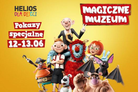 Rodzinne seanse w kinach Helios: Magiczne Muzeum