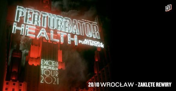 Perturbator + Health, Author & Punisher