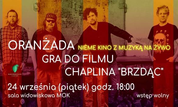 """Nieme kino z muzyką na żywo - """"BRZDĄC"""" + ORANŻADA"""