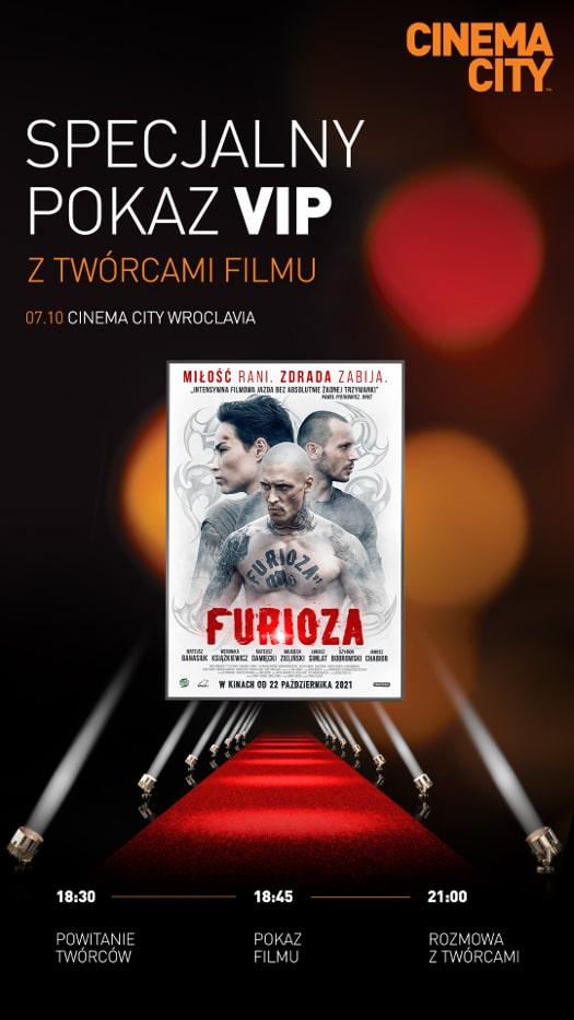 Furioza - pokaz filmu i spotkanie z twórcami