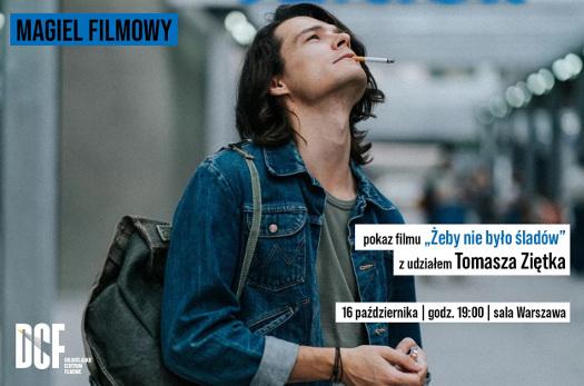 """Magiel Filmowy z Tomaszem Ziętkiem + """"Żeby nie było śladów"""""""