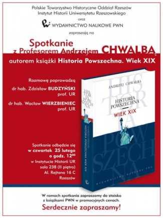 Spotkanie z Profesorem Andrzejem Chwalbą