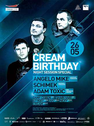 Cream Bitrhday @ Night Session Special