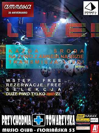 Amnestia Ibiza Live!