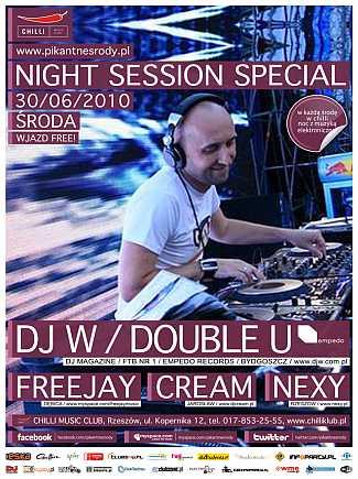 Night Session Special - DJ W/ Double U