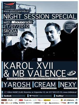 Night Session Special - Karol XVII & MB Valence