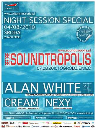 Before SoundTropolis@Night Session Special