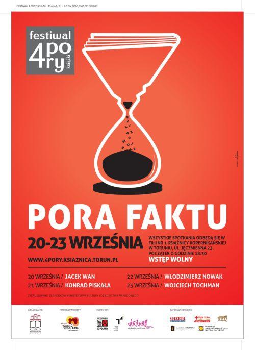 """""""4 Pory Książki"""" - Festiwal Literacki w Toruniu"""