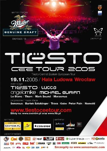 TIESTO Central Eastern European TOUR 2005