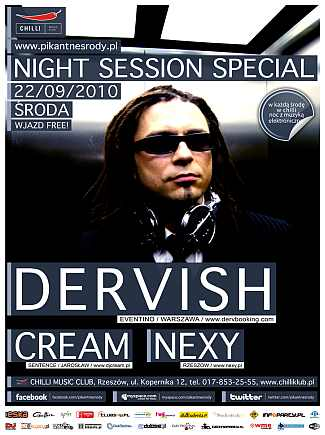 Dervish @ Night Session Special