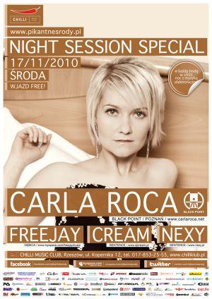 CARLA ROCA @ NIGHT SESSION SPECIAL