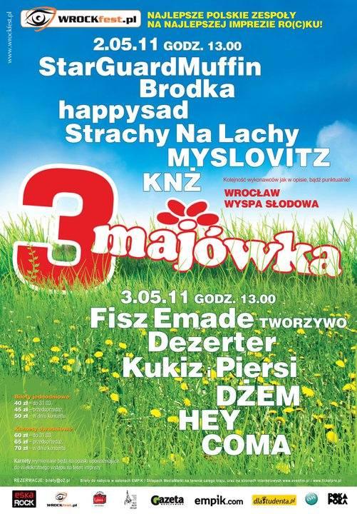3 Majówka we Wrocławiu 2011 - Dzień 1.