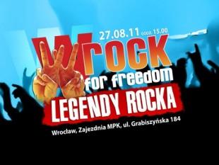 wRock for Freedom: Legendy Rocka