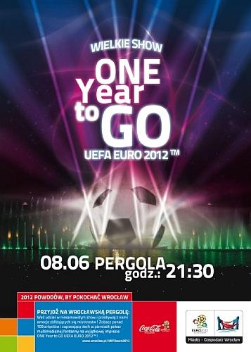 One Year to Go - pokaz i koncert na Pergoli