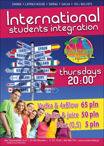 International students integrations