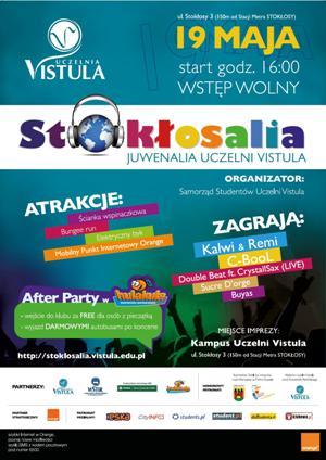 Stokłosalia - Juwenalia Uczelni Vistula