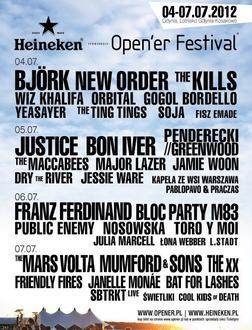 Heineken Opener 2012