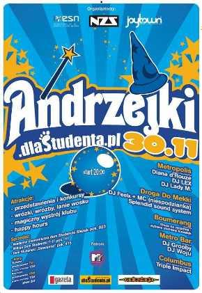 Andrzejki.dlaStudenta.pl, Metro Bar