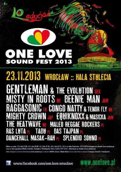 One Love Sound Fest 2013