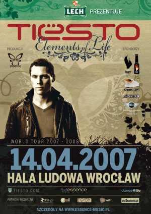 Tiesto Tour 2007 Elements of Life