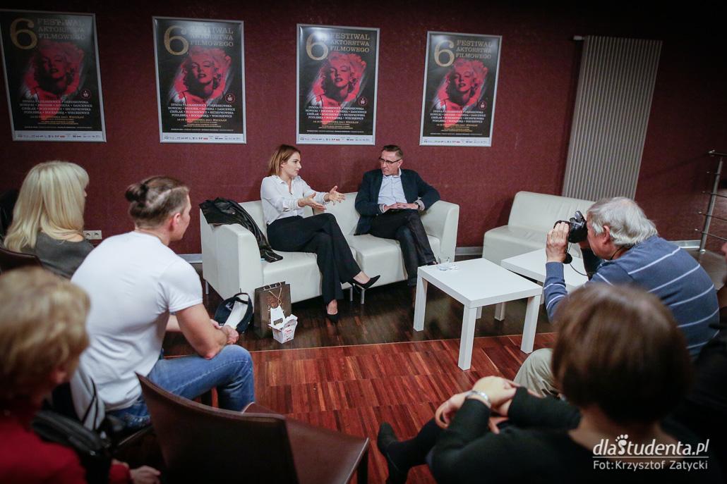 6. Festiwal Aktorstwa Filmowego - Spotkanie z Anną Dereszowską  - zdjęcie nr 1