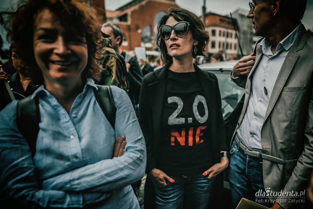 Protest studentów przeciwko reformie 2:0 - zdjęcie nr 2