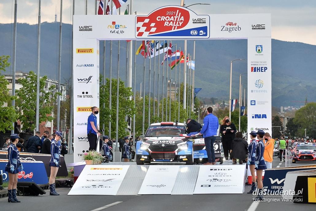 WRC Croatia Rally 2021 - dzień 1