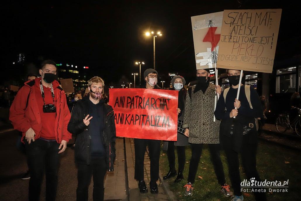 Strajk Kobiet - Wrocław blokuje ulice