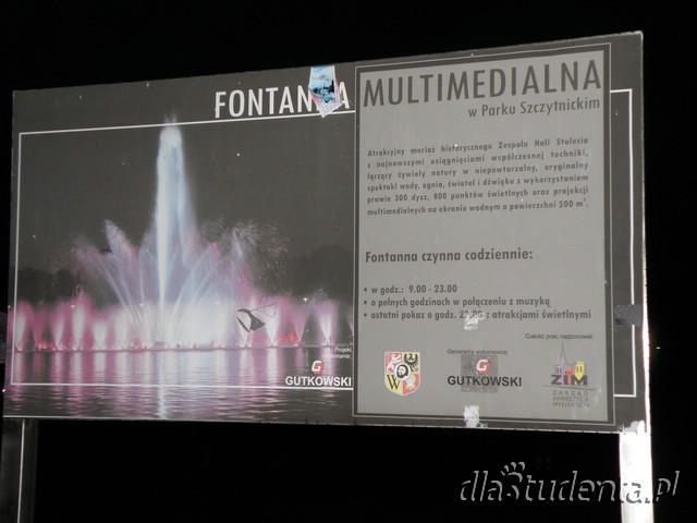 "Pokazy fontanny na 30-lecie ""Solidarności"""