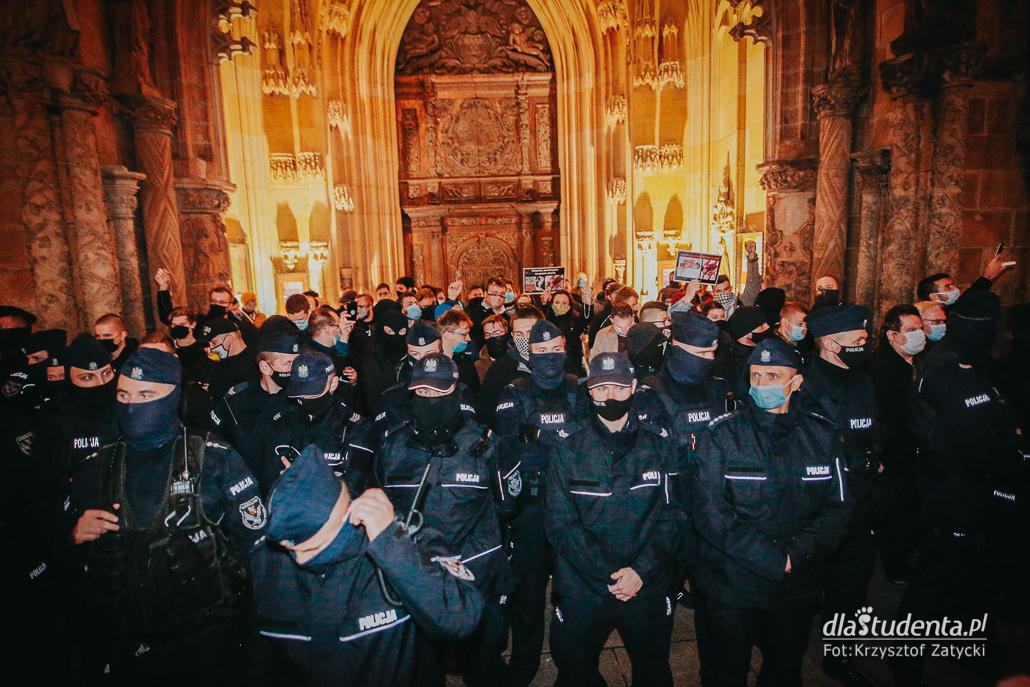 Strajk Kobiet - Blokada Wrocław