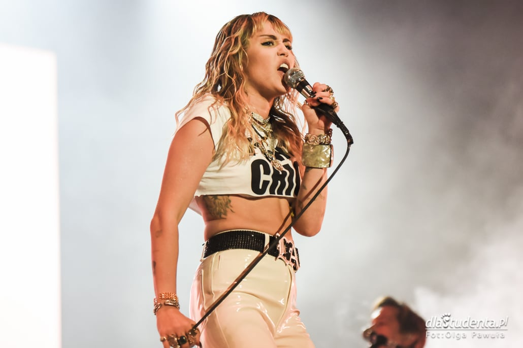 Orange Warsaw Festival 2019: Miley Cyrus gwiazdą drugiego dnia festiwalu