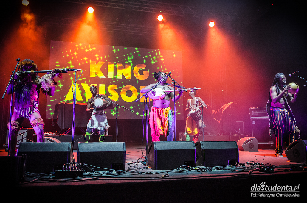 Skrzyżowanie Kultur - King Ayisoba + Nneka