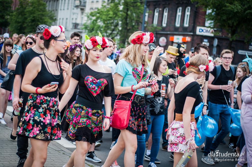 Juwenalia Śląskie 2017: Barwny Korowód Studencki - zdjęcie nr 2
