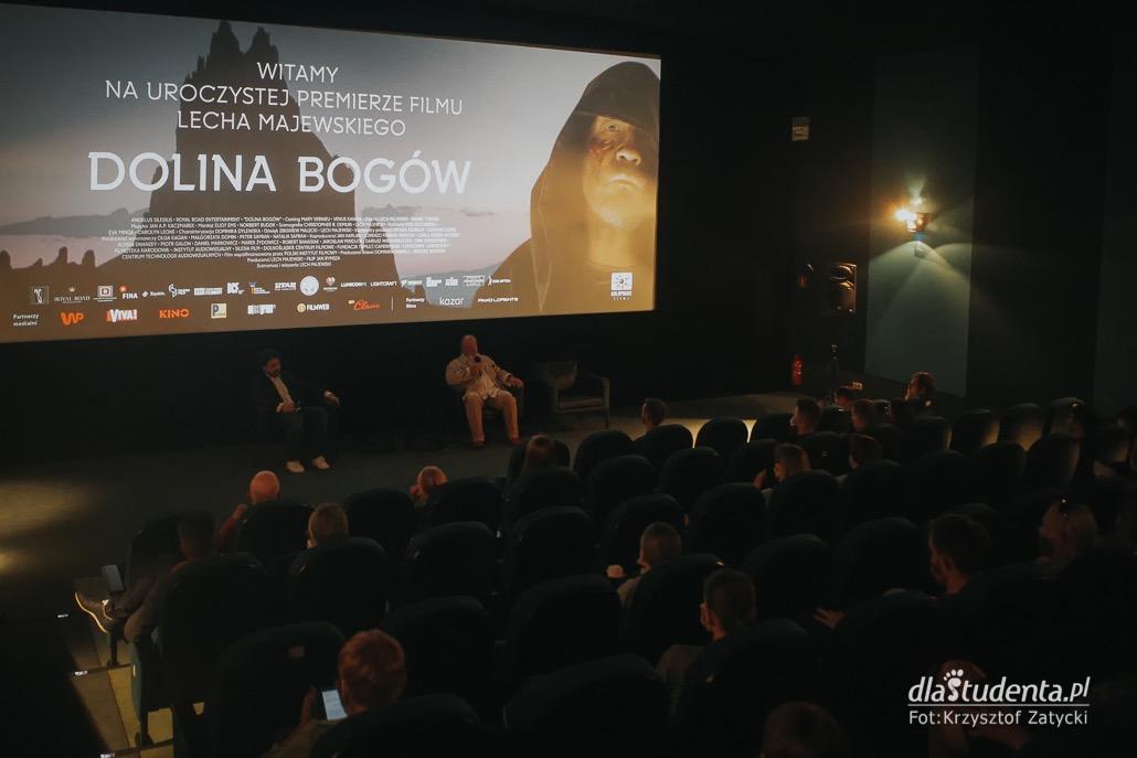 Dolina Bogów - pokaz premierowy z udziałem reżysera