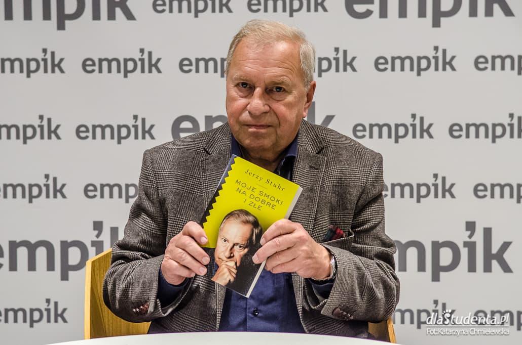 Jerzy Stuhr - spotkanie autorskie w Warszawie