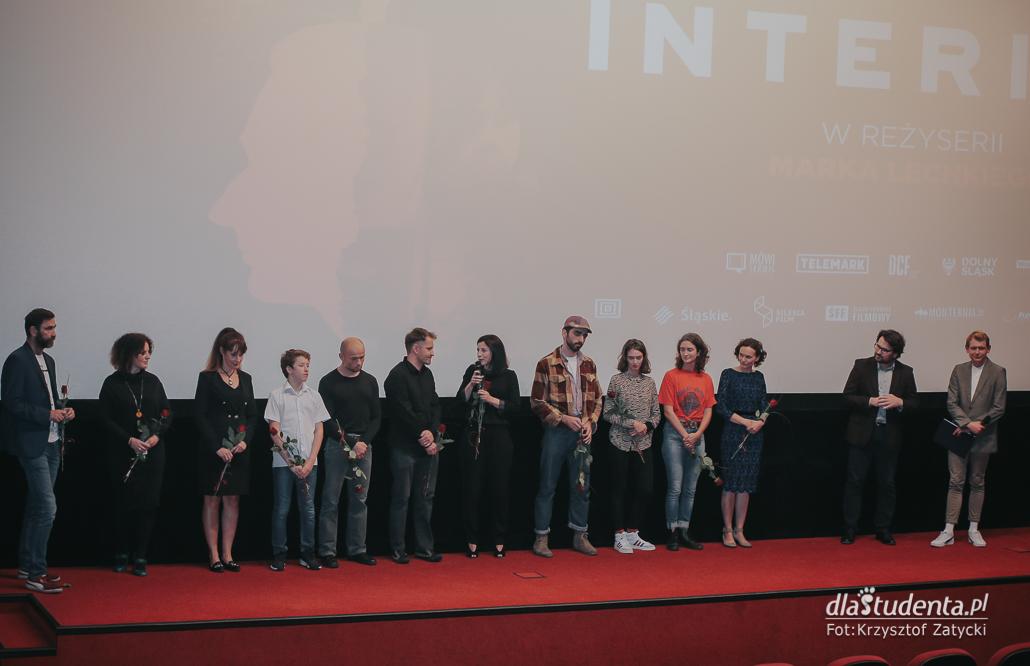 Interior - pokaz premierowy z udziałem reżysera