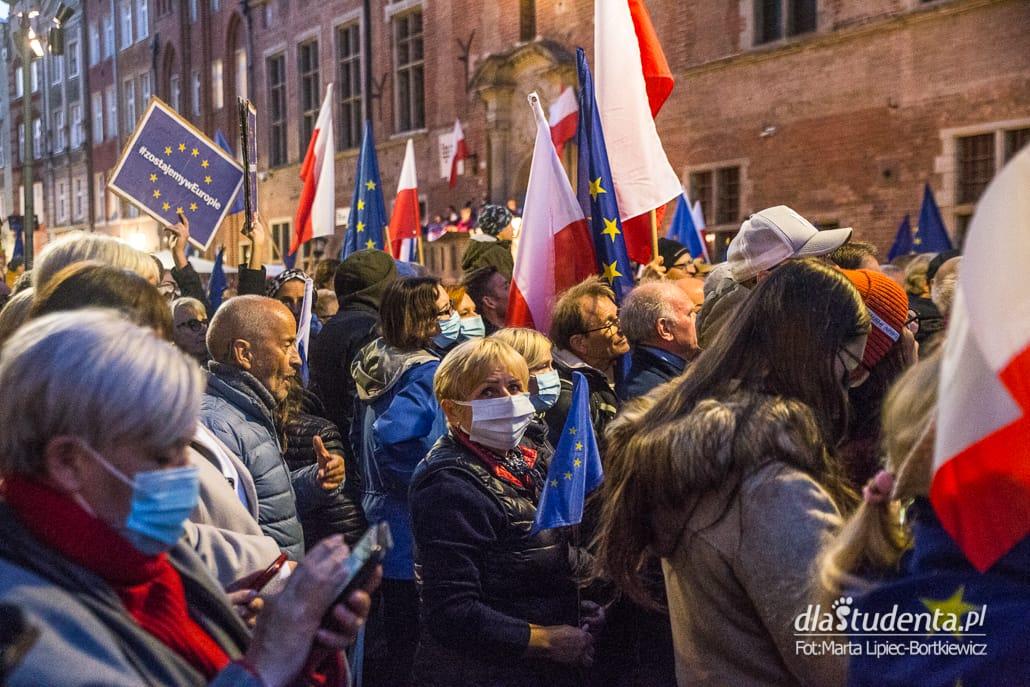 My zostajemy w Europie - demonstracja w Gdańsku - zdjęcie nr 1575973
