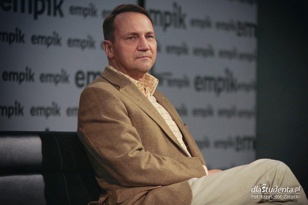 Radosław Sikorski - spotkanie autorskie