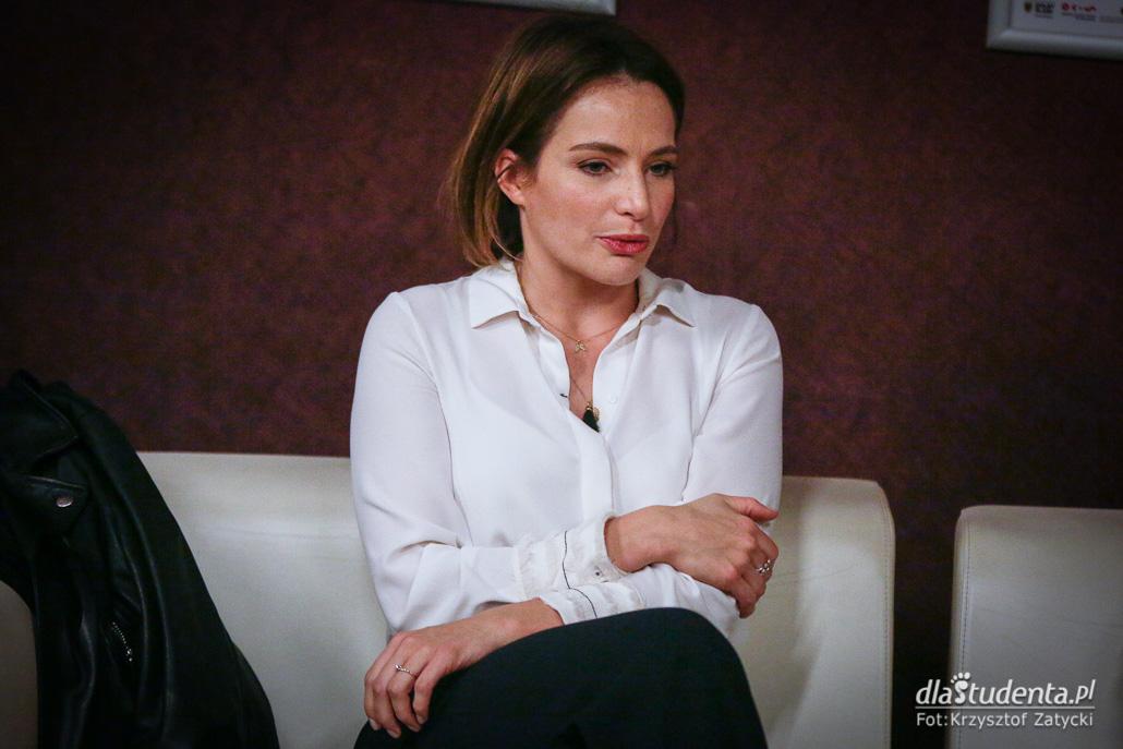 6. Festiwal Aktorstwa Filmowego - Spotkanie z Anną Dereszowską  - zdjęcie nr 6