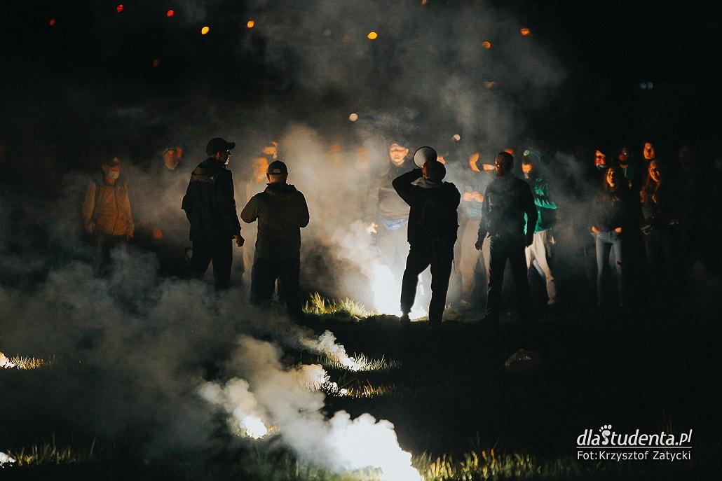 WKS Śląsk Wrocław -  KGHM Zagłębie Lubin: Kibice pod stadionem  - zdjęcie nr 3