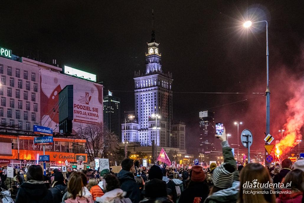 Strajk Kobiet: Marsz na Warszawę