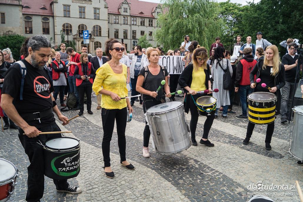 Protest studentów przeciwko reformie 2:0 - zdjęcie nr 9